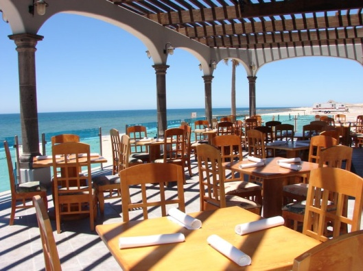 Crisp October evenings on the patio at Mare Blu are a real treasure.
