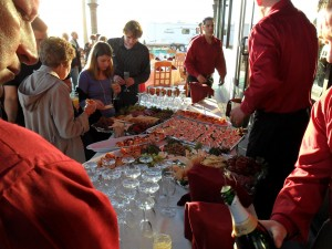 We cater events large and small. Send us a message, and we'll discuss the details.