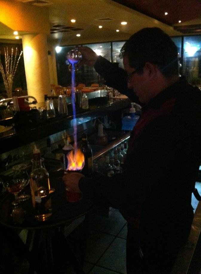 Café Flameado, Mexican coffee can make an evening memorable.